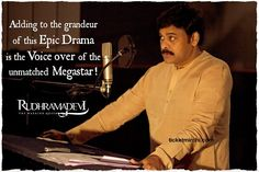 Here's the MEGA News for you guys!! #Megastar #Chiranjeevi sir support towards Rudhramadevi!!