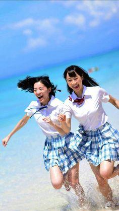 SKE48 18th Single 'Mae No meri' : Matsui Jurina & Matsui Rena