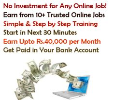 these online jobs from home can pay you excellent income in part time easy to earn money without investment start all online job now in