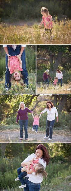 Grandma, mom, and child photo session | photography | Westlake Village Family Photographer
