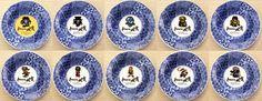 ロマンシング・サガ×ドット絵小皿10枚セット(木箱入り):スクウェア・エニックス e-STORE