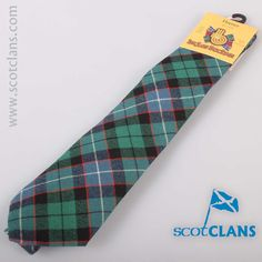 Hunter Ancient Tartan Tie. Free worldwide shipping available
