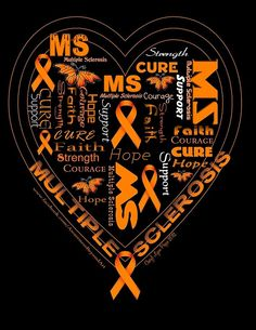 this heart says it all...I may use this design on my MS Walk t-shirts this year?!?