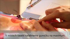 Caramilla Easy - lemování půlenou pruženkou - YouTube Bias Binding, Diy And Crafts, Sewing, Youtube, Easy, Dressmaking, Couture, Stitching, Sew