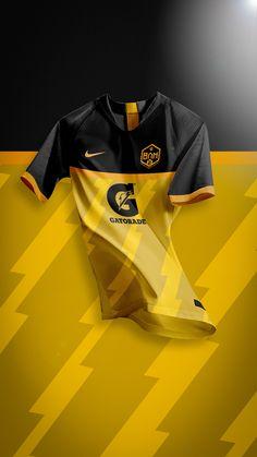 Gatorade BAM Jerseys on Behance Sports Jersey Design, Sport Shirt Design, Football Design, Sport T Shirt, Jersey Designs, Soccer Kits, Football Kits, Football Uniforms, Football Jerseys