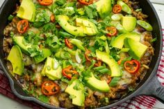 Yes Please!!! Fast, easy, and satisfying is the name of our game this month. Leaving more time for what is truly important  Make this a complete meal by serving in lettuce leaves, wrap-style. Serves 4-6 Ingredients: 2 tsp avocado oil, or olive oil 1lb ground beef, grass feed if possible 1...