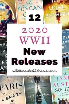 Discover 12 of our most anticipated 2020 WWII book releases from January to June. Find romance, historical fiction, young adult fiction, and nonfiction on this books about World War 2 reading list. Fiction Non-fiction audiobooks magazines literature Book Club Books, New Books, Books To Read, Good Books, Book Clubs, Book Art, Book Suggestions, Book Recommendations, Reading Lists