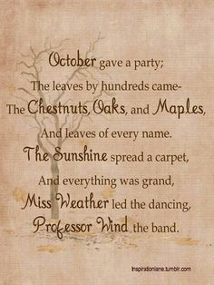October party