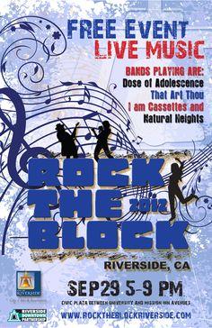 Rock the Block - Riverside