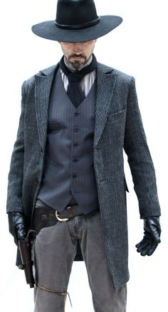 """Westworld Frock Coat by Magnoli Clothiers """"Winning doesn't mean anything unless someone else loses."""" Our new Westworld Frock Coat shown here with our classic Marshall Vest. Cowboy Outfits, Western Outfits, Western Wear, Cowboy Outfit For Men, Movies Costumes, Western Costumes, Cowboy Action Shooting, Cowboy Pictures, Cowboy Up"""