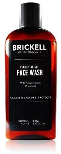 Brickell Men's Clarifying Gel Face Wash for Men – Natural & Organic Facial Cleanser – 8 oz by Brickell Men's Products Coconut-based cleansers wash away oil while aloe renews the skin. Geranium - a powerful antiseptic – cleans away impurities. Face Wash For Men, Natural Face Wash, Natural Skin, Gentlemans Club, Organic Face Products, Best Face Products, Mens Products, Hair Products, Organic Facial Cleanser