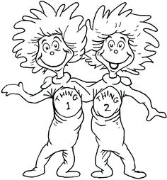 Cat in the Hat Coloring Sheet - - Pinned by #PediaStaff. Visit ...