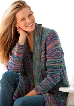 Multi-colored marled sweater | Plus Size Sweaters | Woman Within