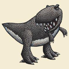 'T-Rex!' T-Shirt by mikelevett Tyrannosaurus Rex, T Rex, Dinosaurs, Lion Sculpture, Statue, Cartoon, Fitness, Shirt, Stuff To Buy