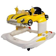 All-in-One Activity Walker - Yellow GT