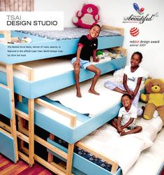 Bedroom Design Ideas for Five Kids