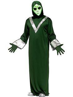 Men's Deep Space Alien Adult Costume