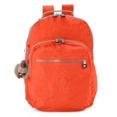 The Seoul Large Laptop Backpack is a lightweight, durable, and water-resistant backpack that a favorite for school students and travelers alike! Kipling Backpack, Kipling Bags, Laptop Backpack, Orange Backpacks, Orange Crush, School Supplies, Seoul, Handbags, Models