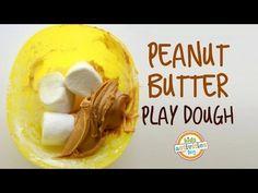 Peanut Butter Play Dough. Edible. Tastes like Candy! – Kids Activities Blog