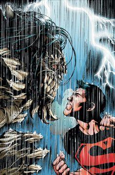 Superboy vs Doomsday