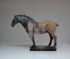 Division of the Field -Nichola Theakston Ceramics. Horse Sculpture, Sculpture Clay, Pottery Sculpture, Pottery Art, Ceramic Animals, Ceramic Art, Sculptures Céramiques, Equine Art, Wildlife Art