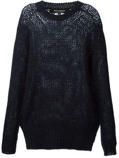 Shop Junya Watanabe Comme Des Garçons intarsia knit oversized sweater in Banner from the world's best independent boutiques at farfetch.com. Over 1000 designers from 60 boutiques in one website.