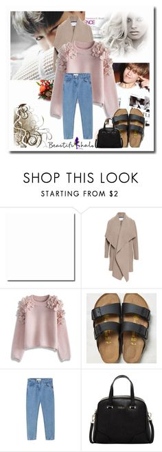 """"""".195"""" by i-love-louis-thetommo-tomlinson on Polyvore featuring Harris Wharf London, Chicwish, American Eagle Outfitters, Furla, women's clothing, women's fashion, women, female, woman and misses"""