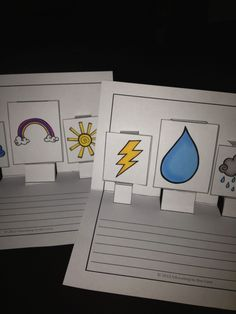 Weather 3-D Pop-Up Writing Activity!