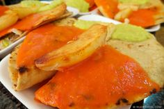 "<p>Guatemalan dobladas, turnoevers, are basically a fried folded in half tortilla with chicken, pork or potatoes, served with steam sliced cabbage, guacamol [avocado sauce] and chirmol or tomato sauce. Dobladas are normally found in the options for refacción, but your can also have them for lunch or dinner or as …</p><script><!-- //LinkWithinCodeStartvar linkwithin_site_id = 598051;var linkwithin_div_class = ""linkwithin_hook"";//LinkWithinCodeEnd --></script><script ..."