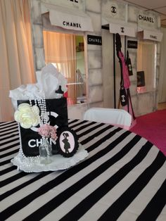 Chanel Baby Shower Baby Shower Party Ideas   Photo 1 of 10   Catch My Party