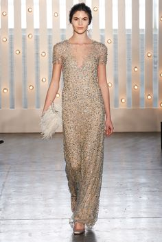 Jenny Packham Fall 2014 Ready-to-Wear - Collection - Gallery - Look 1 - Style.com