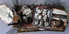 Monster Mini Album - Halloween Scrapbook