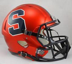 e0b0b12f6 Syracuse Orange Deluxe Replica Speed Helmet Syracuse Football, Illinois  Football, Syracuse University, Hockey