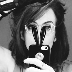 Fernanda Young Fernanda Young, Cat Ears, In Ear Headphones, Cats, Instagram Posts, Earrings, Jewelry, Black And White, Axe