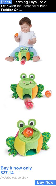baby and kid stuff: Learning Toys For 2 Year Olds Educational 1 Kids Toddler Children Frog Play Baby BUY IT NOW ONLY: $37.14