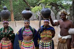 the Zulu tribe / South Africa