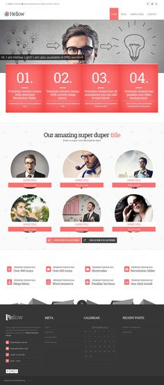 Hellow Light it's a free multipurpose premium like wordpress theme that you can download for free. Enjoy!