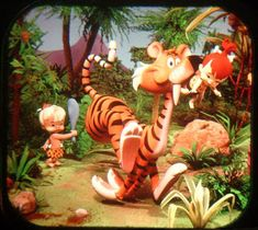 Image from a View-Master reel based on the TV series | The Flintstones (1960-1966)