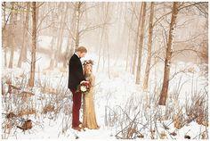 Winter Wedding | West Michigan Wedding Photographer Jessica Frederick Photography