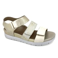 331f228bc05 Aetrex Zoey Women s Quarter Strap Sandal Gold