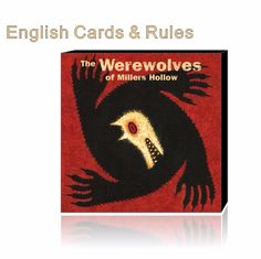 Werewolves of Millers Hollow // Price: $10.95 & FREE Shipping //  We accept PayPal and Credit Cards.    #gameronboard #boardgame #cardgame #game #puzzle #maze #toys #chess #dice #kendama #playingcards #tilegames