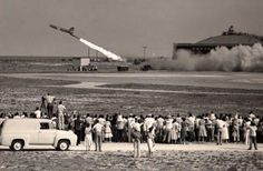 Missile Launch from Patrick Air Force Base