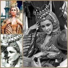 Elizabeth Taylor Cleopatra, Crown, Fashion, Moda, Corona, Fashion Styles, Fashion Illustrations, Crowns, Crown Royal Bags