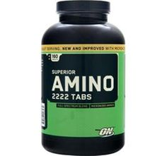 You will obtain your objective! OPTIMUM NUTRITION Superior Amino 2222 320 - 640 or 960 tabs will ship same day #OPTIMUMNUTRITION