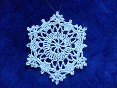 August Snowflake ~ free pattern