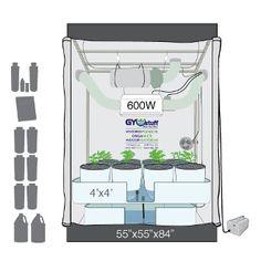 8 X 4 grow tent bucket system diagram - Google Search | Hydro ...