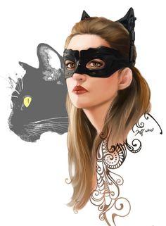 #DarkKnightRises #Catwoman
