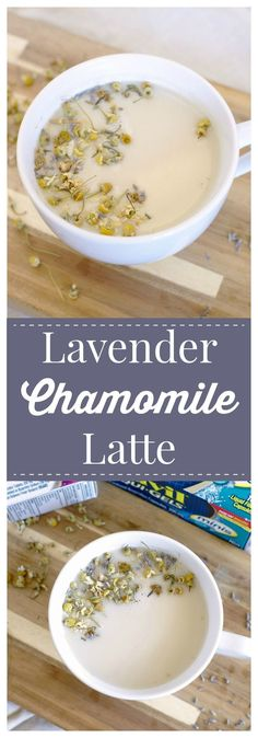 Lavender Chamomile Latte – A calming and relaxing drink made with blend of chamomile and lavender steeped in warm milk!  #ad #AdvilRelief @Target @advil #drink #latte #lavender #chamomile