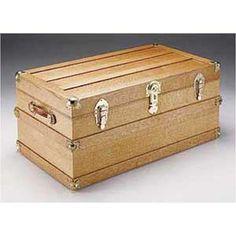 Steamer Trunk Woodworking Plan                              …