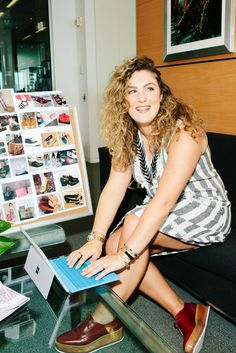 """Currently: Studying Marketing at Manhattan College Her Go-To Gadget: """"The Microsoft Surface 3 is like my own portable office. It's great to be able to check email and reach out to designers from anywhere.""""   - MarieClaire.com"""